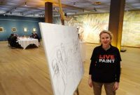 De week van Live Painter Eva Maria